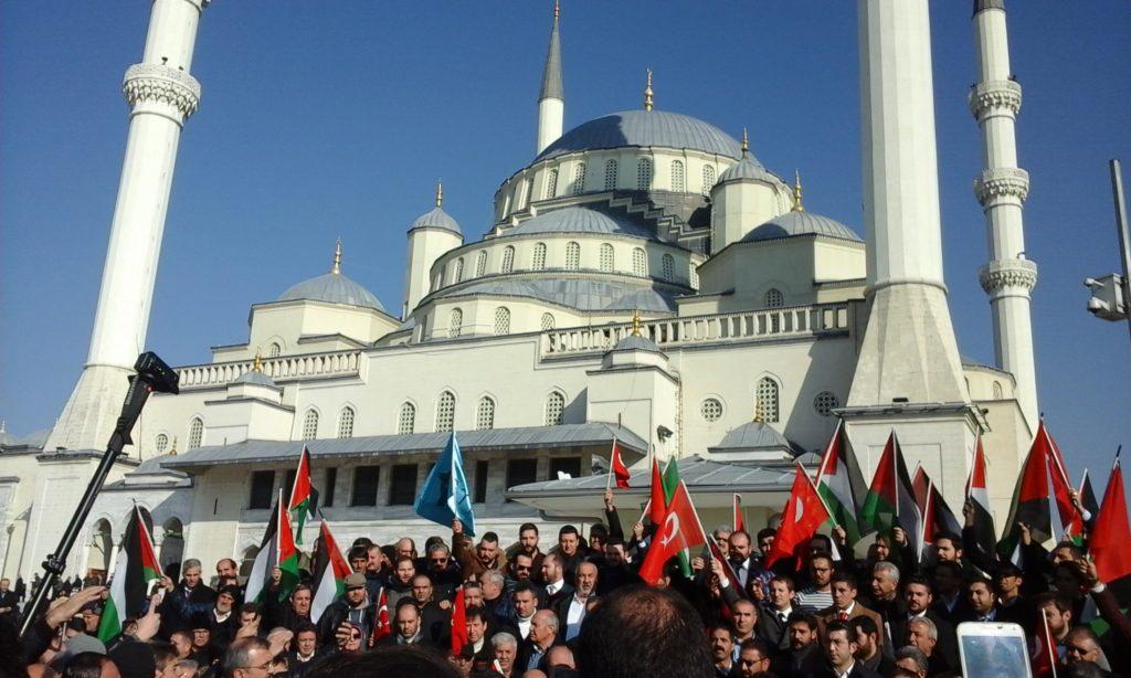 Türkiye Kudüs'ü Şerif İçin Ayakta