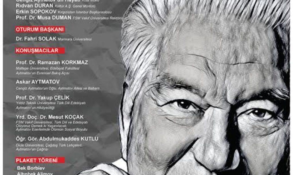 İstanbul'da Kırgız Yazar Cengiz Aytmatov Anılacak