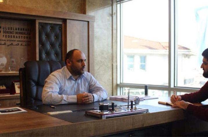 """Ali Bolat: """"UDEF'in Amacı Misafir Öğrencilere Ev Sahipliği Etmek"""""""
