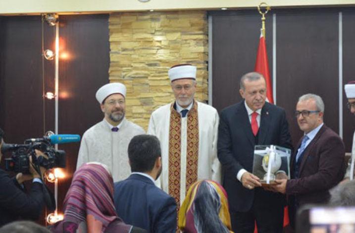 Gümülcine'de Türk Cumhurbaşkanı