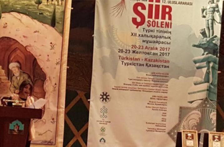 """Türk Dünyası """"Şiir Şölenin""""de Buluştu"""