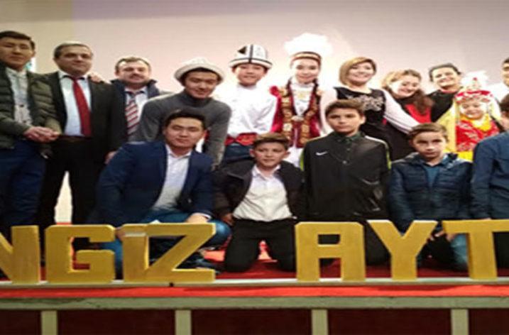 Cengiz Aytmatov'u Ortaokul Öğrencileri de Unutmadı