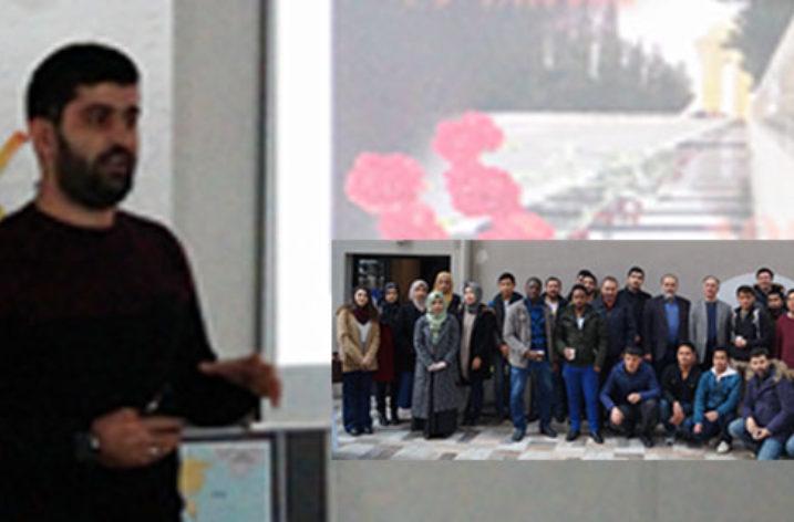 İzmir'de Azerbaycan Şehitleri Anıldı