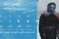 Astana'da Kutup Soğukları