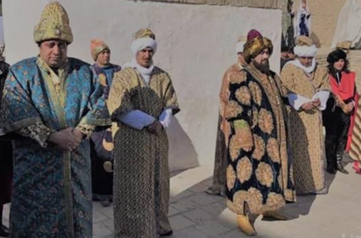 Buhara-yı Şerif Emiri Osmanlı Elçilerini Kabul Ediyor