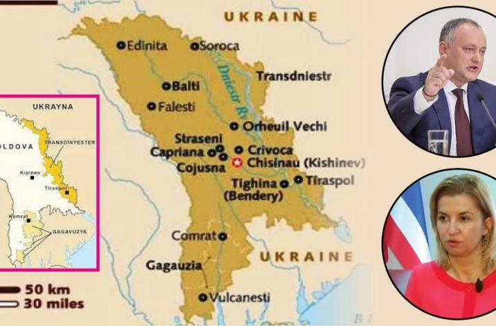 Moldova'da Romanya'ya ile Birleşmek İsteyenlere Tepki