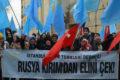 Kırım'ın İşgalinin Dördüncü Yılında İstanbul'da Basın Açıklaması