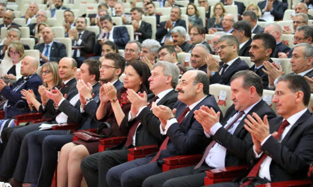 Makedonya Cumhurbaşkanı YÖK'te Konferans Verdi