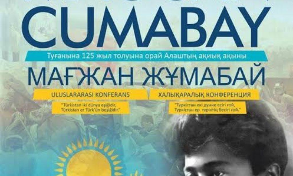 Alaş Şairi Mağcan Cumabay Ankara'da Anılacak
