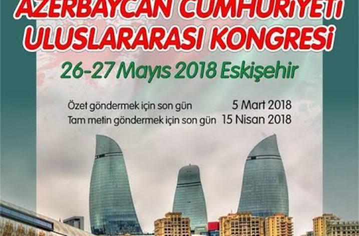 100. Yılında Azerbaycan Kongresi Düzenlenecek