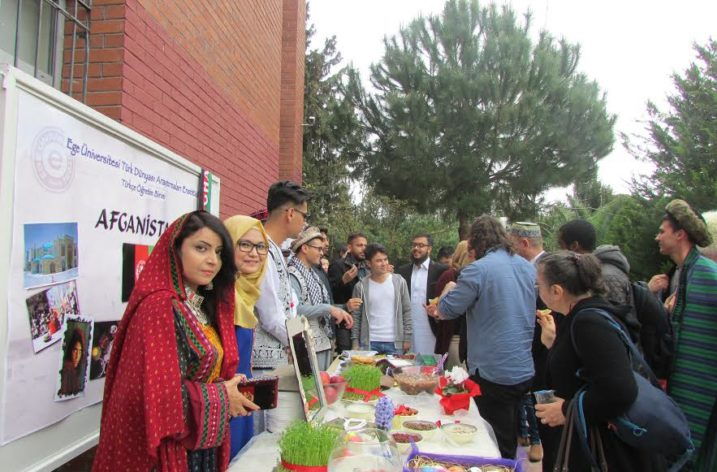 Ege Üniversitesinde Nevruz Kutlamaları