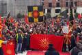 Makedonya'da İsim Sorununa Protesto