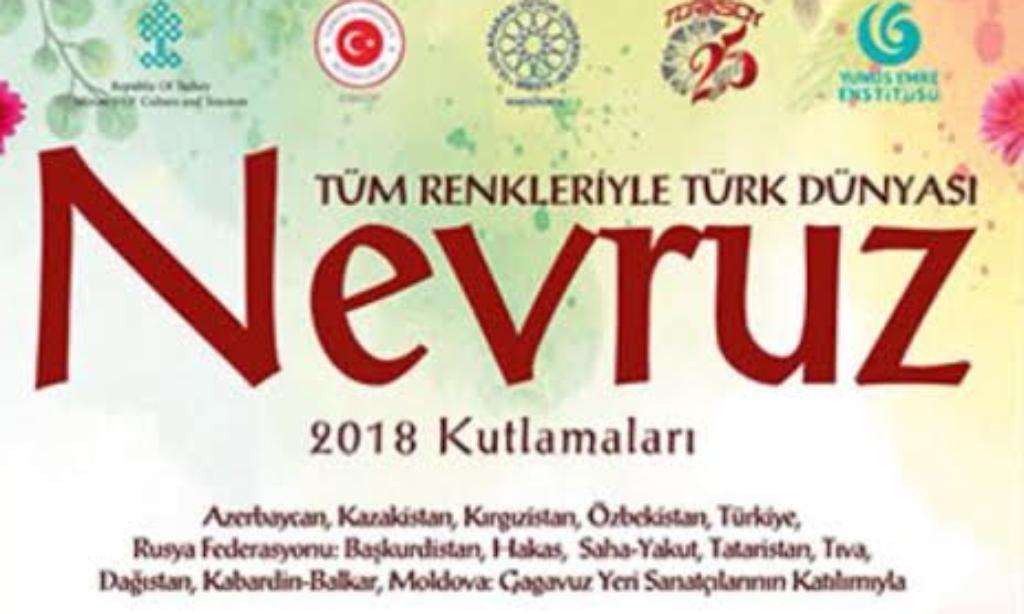 """Gostivar'da """"Tüm Renkleriyle Türk Dünyası Nevruz"""" Kutlanıyor"""