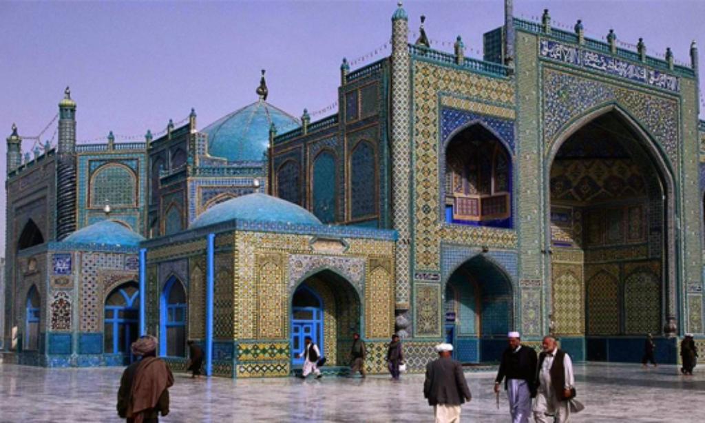 Hazreti Ali'nin Ziyaretgahı Afganistan'ınMavi Camisi