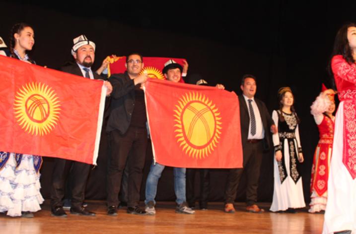 Kayseri'de Kırgızistan Kültürü Tanıtıldı