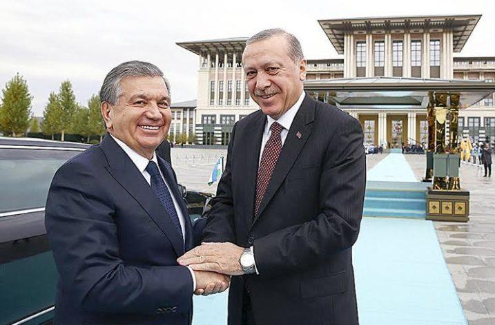 Cumhurbaşkanı Erdoğan'dan Özbekistan Ziyareti