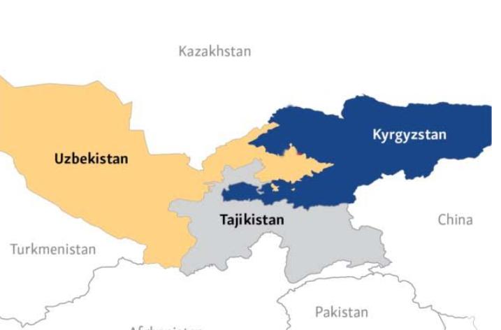 Kırgızistan'da Özbek Göçmen Sayısı Artıyor