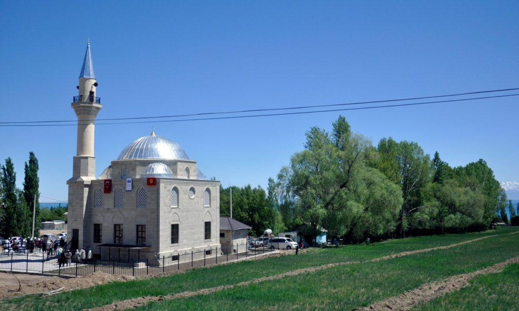 Kırgızistan'da Yapılan Türk DünyasıCamisine Açılış Töreni Düzenlendi