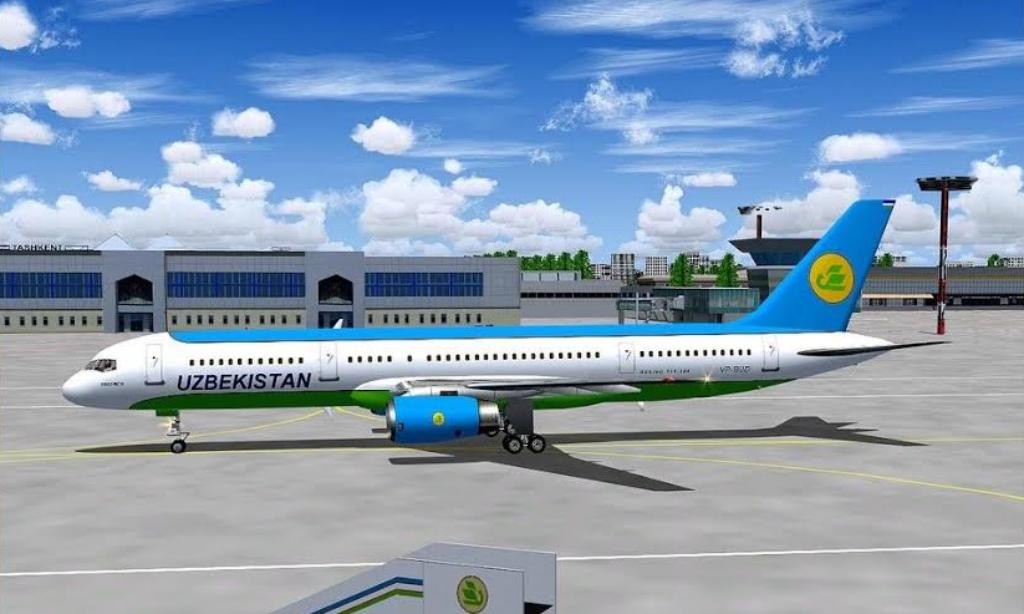 Taşkent'te Yeni Havalimanı İnşa Ediliyor