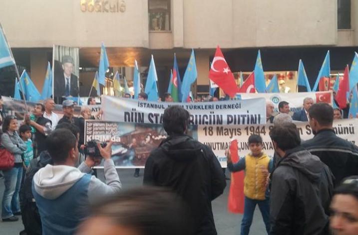 Kırım Tatarları Sürgünü İstanbul'da Anıldı
