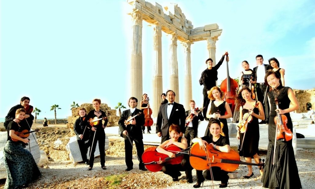 TÜRKSOY Gençlik Oda Orkestrasının Balkan Turnesi Başladı