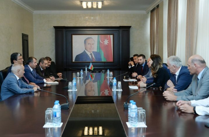 TDBB Bosna Hersek Heyetinden Azerbaycan Ziyareti