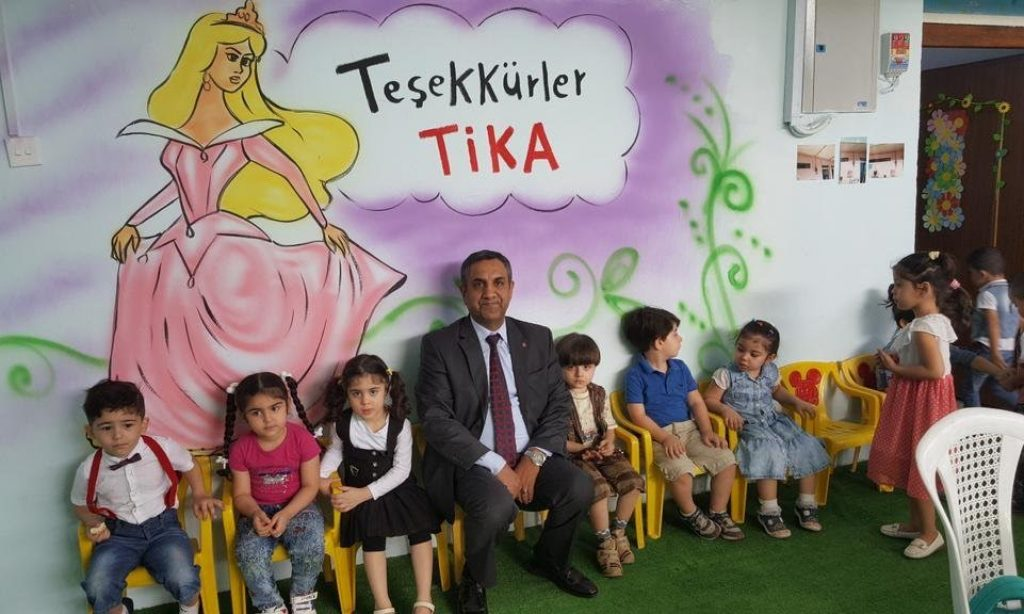 TİKA Irak Türkmenlerine elini uzatıyor