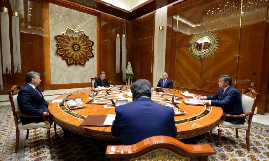 Türkistan Liderleri Aral Gölü İçin Toplandı