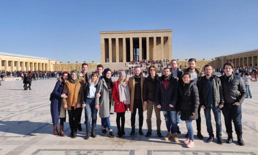Eskişehir BATÖB'den Ankara ziyareti