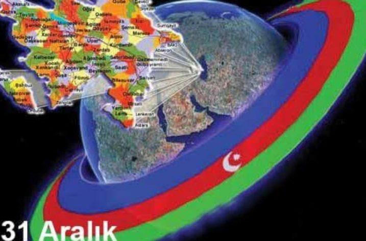31 Aralık Dünya Azerbaycanlılar Dayanışma Günü