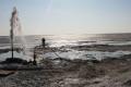 Aral'da yeraltı su kaynağı bulundu