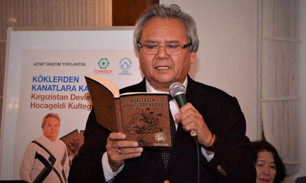 Kırgız şair Kultegin'in şiirleri Türkçeye kazandırıldı