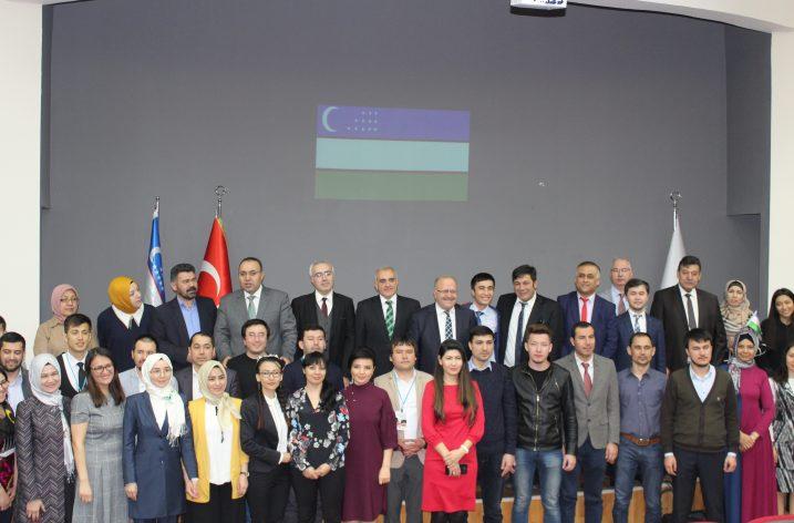Özbekistanlı doktora öğrencileri Konya'da bir araya geldi