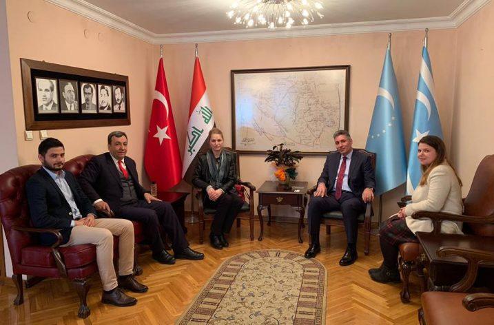 TOGED ve Gagauzlar Derneğinden Irak Türkmen Cephesi Türkiye Temsilciliğine ziyaret
