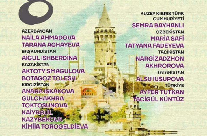 Türk Dünyasının kadın sanatçıları İstanbul'da buluşuyor