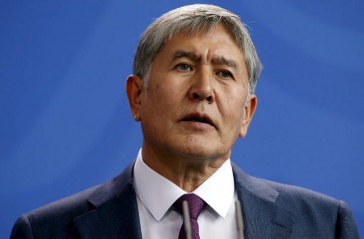 Kırgızistan'ın eski Cumhurbaşkanı Atambayev teslim oldu