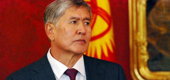 Atambayev'in evine ikinci operasyon başlatıldı