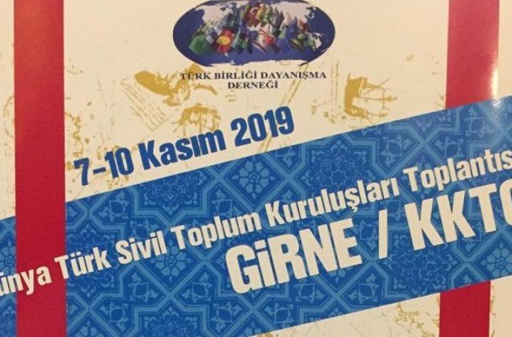 """KKTC'de """"Dünya Türk Sivil Toplum Kuruluşları Toplantısı"""" başladı"""