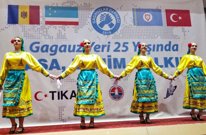 Gagauz Özerk Yeri'nin 25. yıldönümü başkent Ankara'da konserle kutlandı