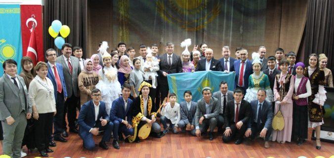 Kazakistan Bağımsızlık günü Konya'da Kutlandı