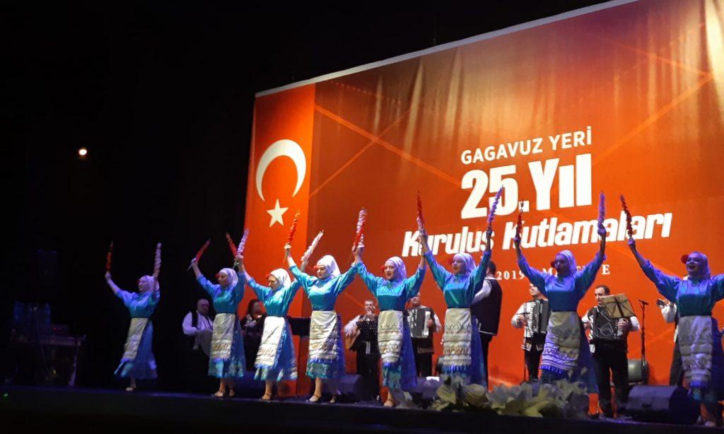 Gagauz Özerk Yerinin 25. yıldönümü İstanbul'da coşkuyla kutlandı