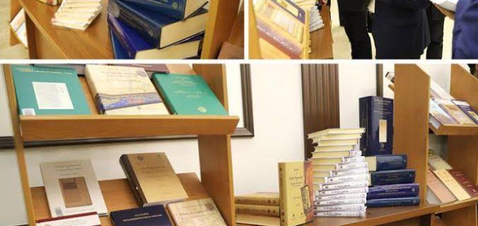 Marmara Üniversitesi Özbekistan'a Mâtürîdî Kitaplarını Hediye Etti