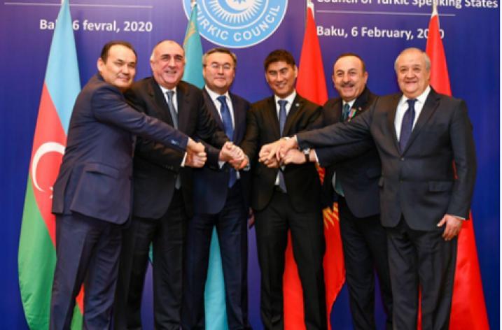 Türk Keneşi Dışişleri Bakanları Bakü'de bir araya geldi