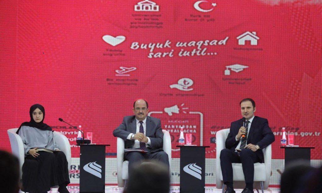 Türkiye Bursları Özbekistan'da Tanıtıldı