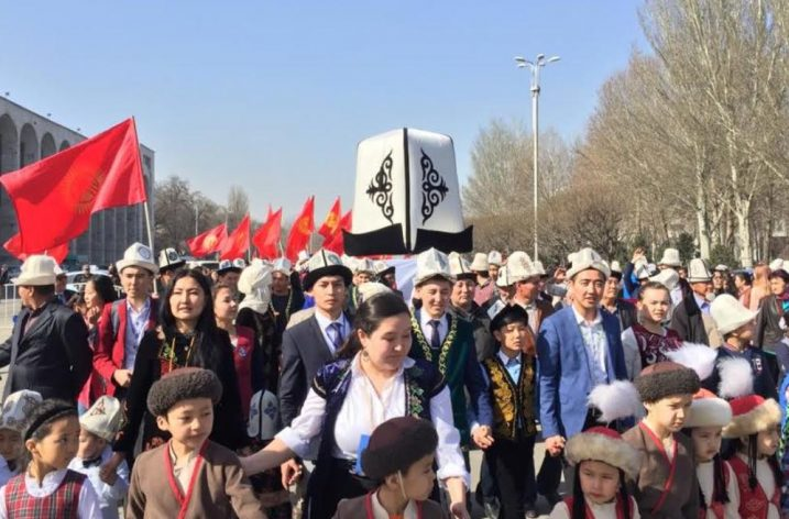 Kırgız Milli Baş Giysisi Kalpak