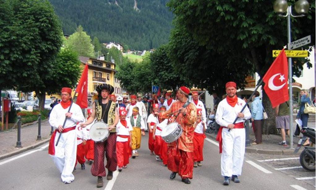 Moeana (La Turchia) İtalya'da bir Türk Köyü