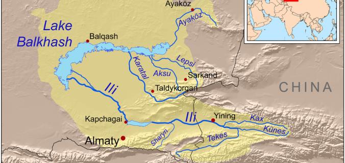 İpek Yolu Geçidinde Tarihi Yedi-Su Bölgesi