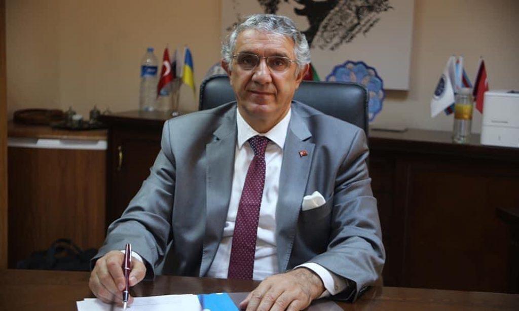 Manas Üniversitesi'nin yeni  Rektörü Prof. Dr. Alpaslan Ceylan oldu