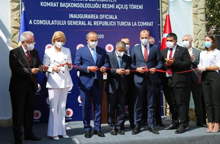 Gagauz Özerk Yeri'nde Türkiye'nin Komrat Başkonsolosluğu açıldı