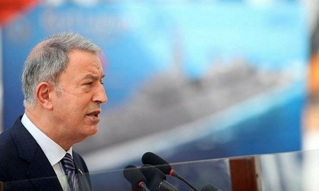 Milli Savunma Bakanı Akar Kazakistan'da